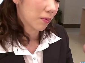 Hitomi Oki looks eager not far from palce this dick concerning her hairy twat