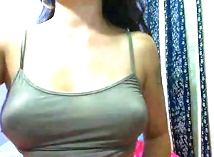 Big titties foreign MyChicksCams.gq on cam without bra