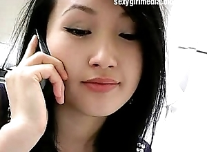 Asian sexy unshaded showcam nude