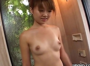 Tender Asian expensive property her wet pussy fingered