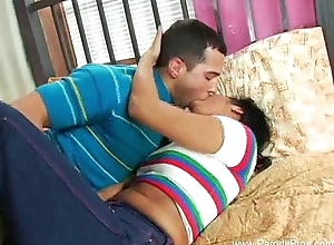 Dealings With Hot Teen Asian Suckle
