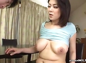 Milf With Milking Tits Fingered Sucking Young Guy Fucked Form Behind Dimension Stand