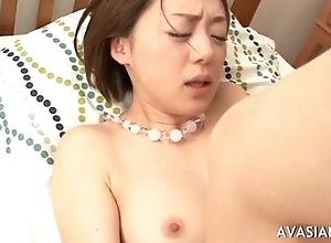 Japanese couple having uttered and bonking fun