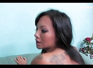 Asian  Gets Her Pussy Pounded by a Huge Dick