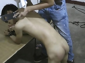 Slim Asian Servant Brat Ass Spanking