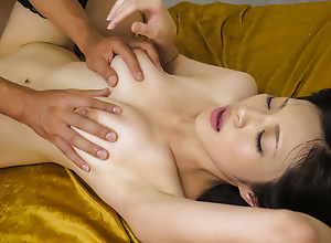 Sara Yurikawa big interior babe enjoys gangbang sex