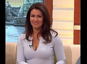 Cum Be advantageous to Sexy Mummy Susanna Reid Amazing Cleavage Well done Tits