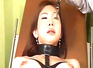 Asian suffers fro painful BDSM