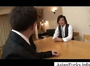 Asian in a Maid Cosplay Takes a Load in Their way Mouth, Pussy and Ass - Part 4
